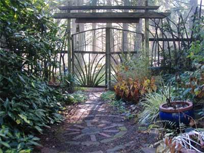 Entrance Threshold To Gardens At Cortesia Sanctuary